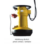 The single-stage submersible pump...
